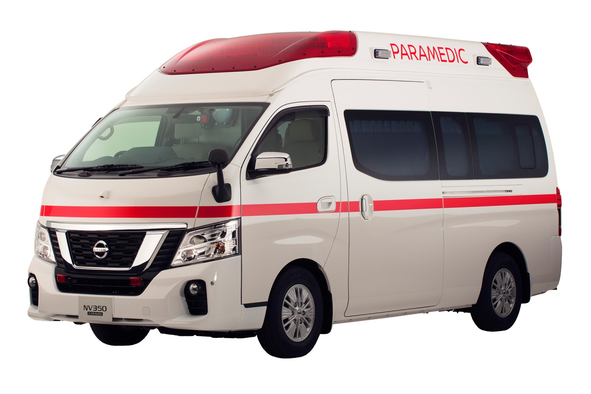 Paramedic: La ambulancia eléctrica de Nissan