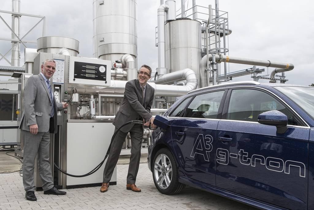 Audi construirá planta de producción de combustiblessintéticos